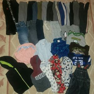 24 month boy winter clothes lot